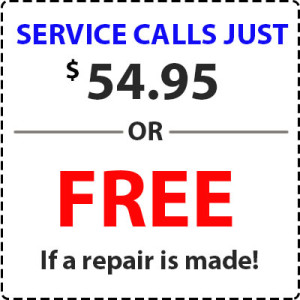 one hour service call price cost bbb service magic